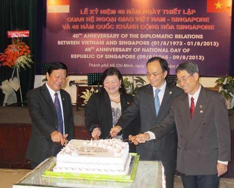 Việt Nam là điểm đến đầu tư hàng đầu của Singapore