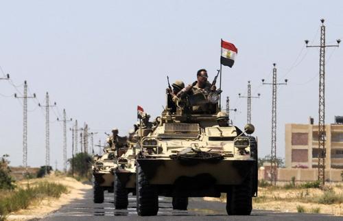 Đánh bom liên hoàn nhằm vào quân đội Ai Cập