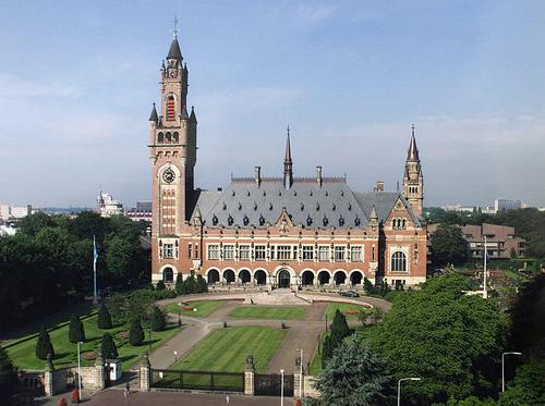 Tòa án Công lí Quốc tế ICJ tại Hà Lan.