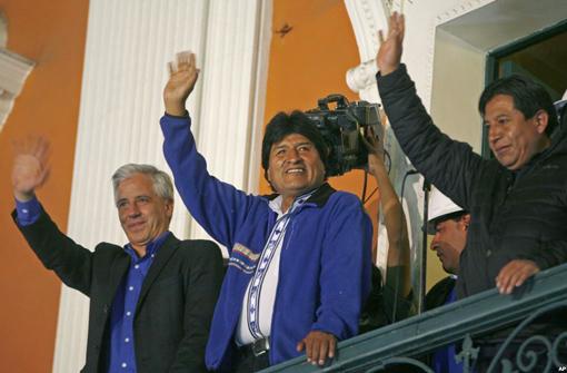 Ông Morales tái đắc cử Tổng thống Bolivia