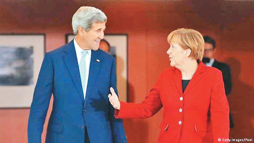 Mỹ, Đức đồng thuận về các vấn đề quốc tế