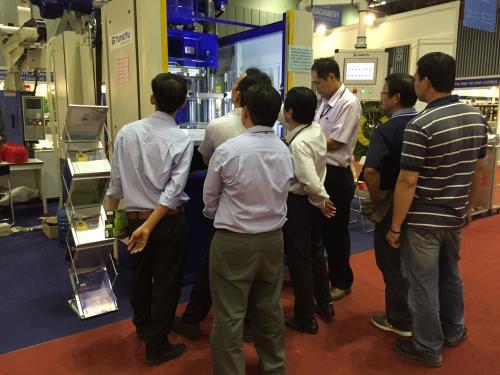 Triển lãm thiết bị công nghiệp ngành nhựa và cao su
