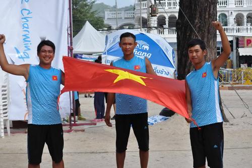 Việt Nam nhận cờ đăng cai ASIAN Beach Games 2016