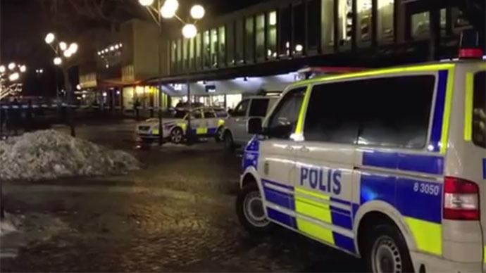 Xả súng đẫm máu tại Thụy Điển  ảnh 1