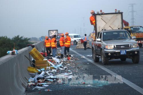 Nguy cơ tăng tai nạn trên các tuyến cao tốc - ảnh 1