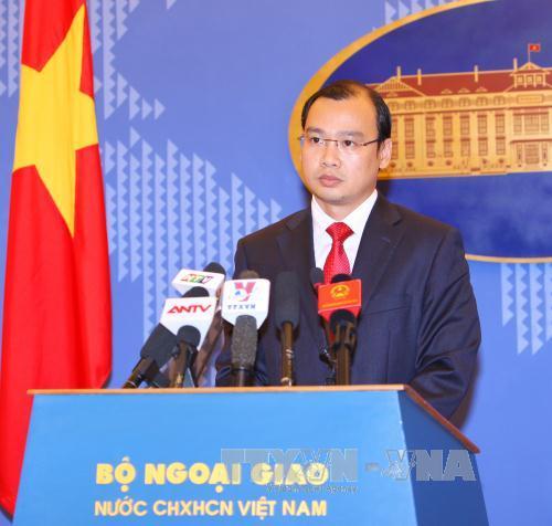 Trung Quốc phải chấm dứt ngay hoạt động xây dựng tại Hoàng Sa, Trường Sa