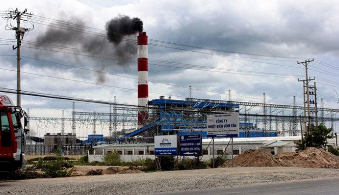 Image result for nhiệt điện vĩnh tân