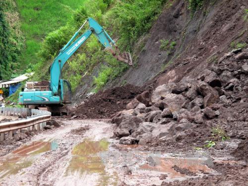 Mưa to diện rộng, nguy cơ cao sạt lở đất ở vùng núi