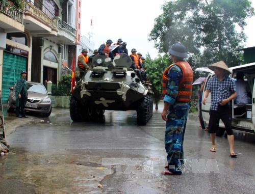 Quốc lộ trên tỉnh Quảng Ninh cơ bản thông suốt trở lại - ảnh 1