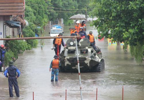 Mưa lũ khiến 3 vạn thợ mỏ Quảng Ninh tạm nghỉ việc  - ảnh 1