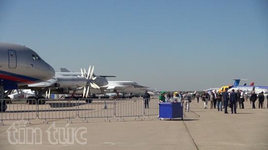 Ấn tượng Triển lãm hàng không vũ trụ quốc tế tại Nga - Ảnh 3