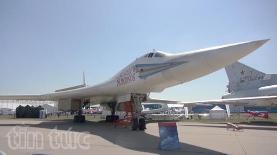 Ấn tượng Triển lãm hàng không vũ trụ quốc tế tại Nga - Ảnh 1
