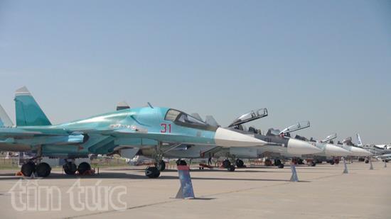 Ấn tượng Triển lãm hàng không vũ trụ quốc tế tại Nga - Ảnh 2