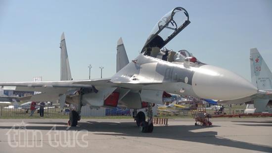 Ấn tượng Triển lãm hàng không vũ trụ quốc tế tại Nga - Ảnh 6