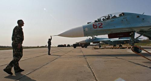 Lực lượng Hạm đội Baltic của Nga đã diễn tập chiến đấu trên không.
