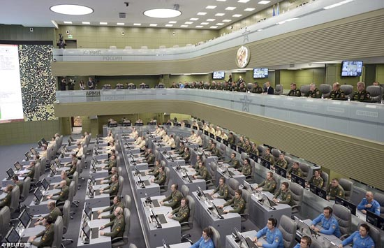 """Chiêm ngưỡng """"Phòng chiến tranh"""" tỷ đô của Nga"""