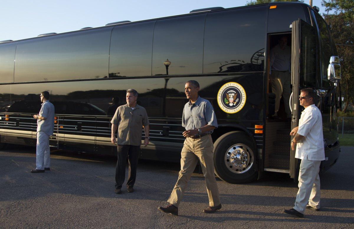 """""""Chuyên cơ mặt đất"""" của Tổng thống Obama"""