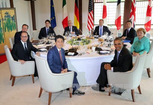 G7 muốn giải quyết hoà bình xung đột ở Biển Đông