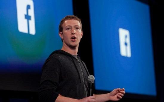 Người sáng lập và Tổng giám đốc điều hành Facebook Mark Zuckerberg.