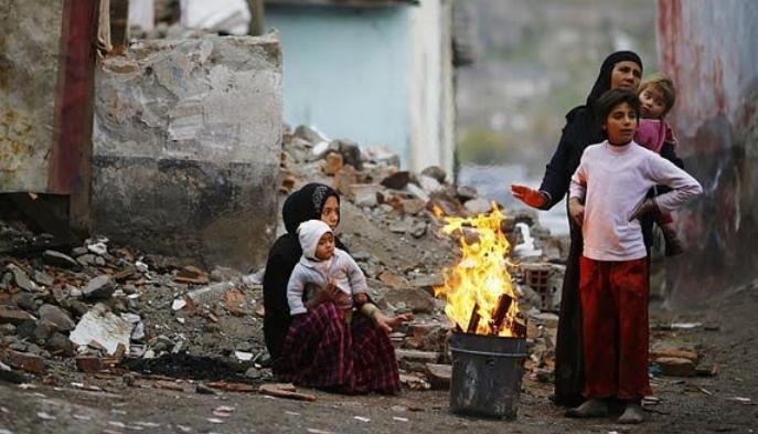 Người tị nạn Syria. Ảnh: Bild