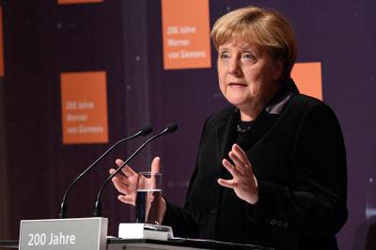 Thủ tướng Đức Angela Merkel tại một sự kiện ở thủ đô Berlin ngày 29/11. Ảnh: AP/TTXVN