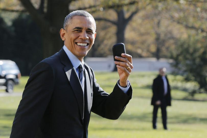 Tổng thống Obama vẫn là người đàn ông được ngưỡng mộ nhất nước Mỹ