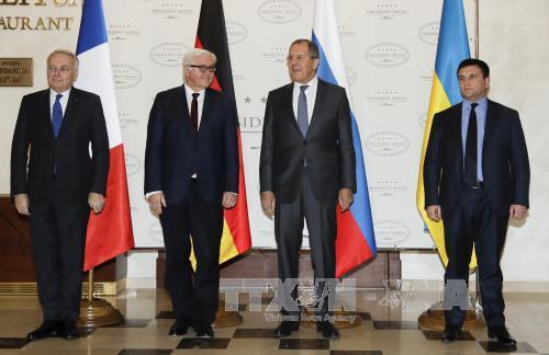 Đức, Pháp, Nga thúc đẩy giải quyết vấn đề Ukraine qua nhóm 'Bộ tứ Normandy'