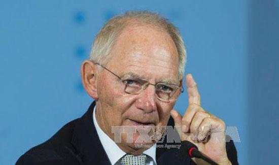 Bộ trưởng Tài chính Đức Wolfgang Schaeuble. Ảnh: AFP/TTXVN