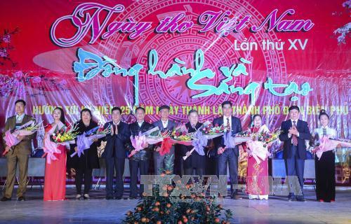 Ngày thơ Việt Nam ở Điện Biên 2017
