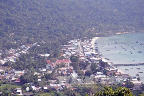 Một góc đảo Thổ Châu.