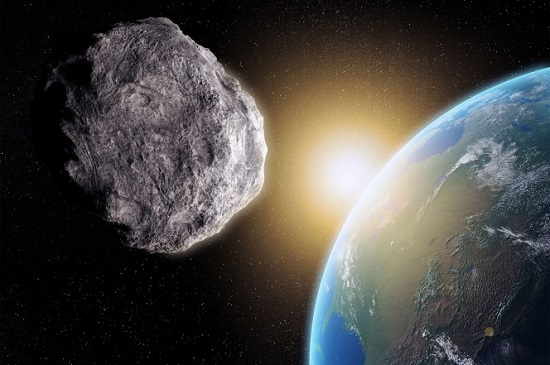 Tiểu hành tinh khổng lồ 2017 EG3 tiến rất gần Trái Đất.