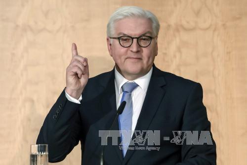 Tân Tổng thống Đức: ''sự can đảm là mạch máu của nền dân chủ''