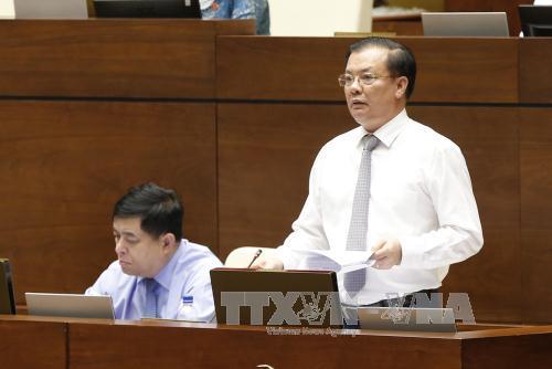 Bộ trưởng Bộ Tài chính giải trình về nợ công tăng cao - Ảnh 1