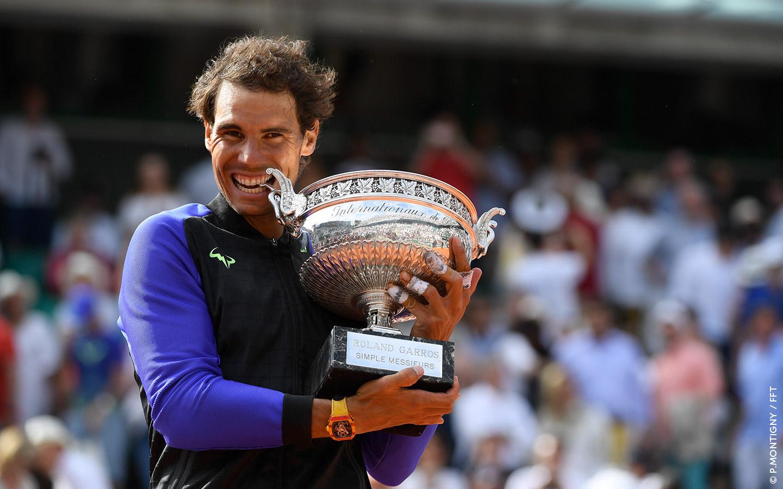 Nadal bứt phá lên số 2 thế giới, Lý Hoàng Nam thăng tiến vượt bậc