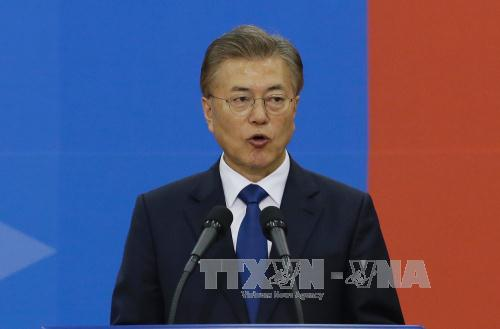 tong thong han quoc moon jae in. anh: afp/ttxvn