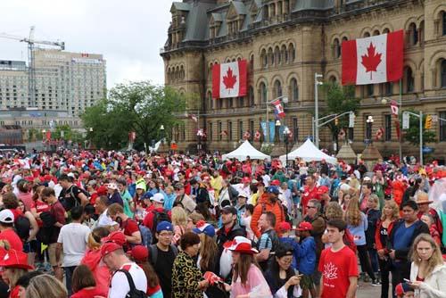 Canada tưng bừng kỷ niệm 150 năm ngày ra đời Liên bang - Ảnh 2
