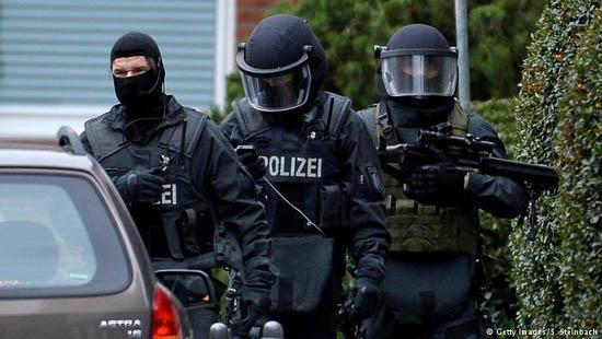 Cảnh sát Đức tuần tra tại Hamburg. Nguồn ảnh: dw.com