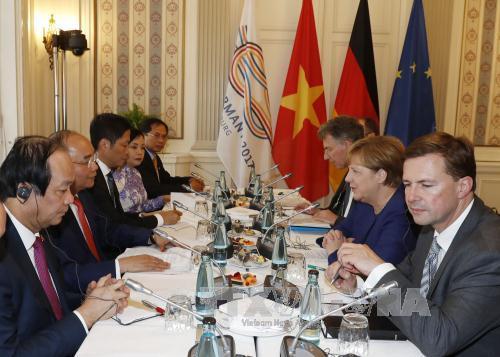 Thủ tướng Nguyễn Xuân Phúc hội đàm với Thủ tướng Đức Angela Merkel - Ảnh 3