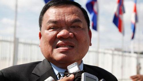 cuu pho thu tuong campuchia, ong nhiek bunchhay. anh: phnompenhpost.com