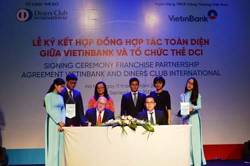 VietinBank và Tổ chức thẻ quốc tế DCI ký hợp tác toàn diện