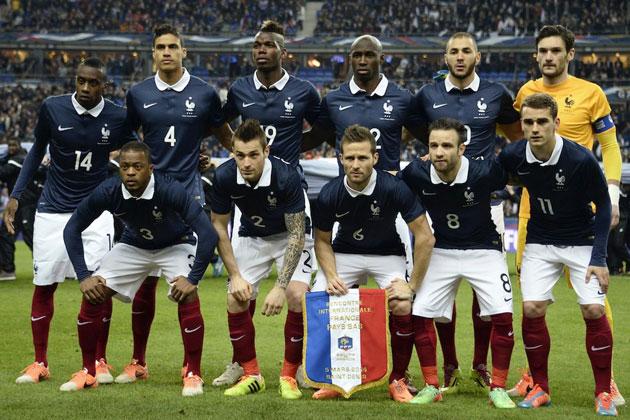 Kết quả hình ảnh cho Đội tuyển quốc gia Pháp