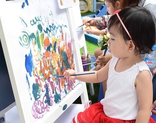 Kết quả hình ảnh cho hội họa cho bé