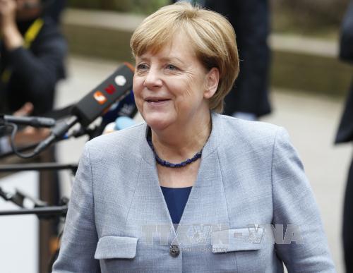 Thủ tướng Đức Angela Merkel. Ảnh: THX/TTXVN