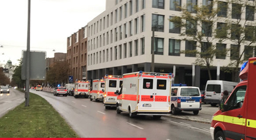 TIN NÓNG: Tấn công bằng dao ở München, nhiều người bị thương