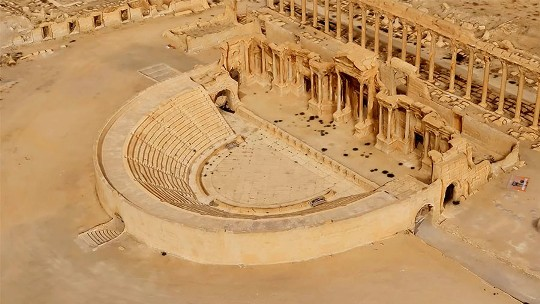 Nga tặng mô hình thành cổ Palmyra 3D cho Syria