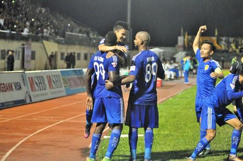 Quảng Nam trở thành tân vô địch V-League 2017