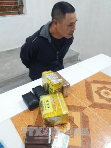 Bắt giữ vụ vận chuyển ma túy với số lượng lớn tại Hải Dương
