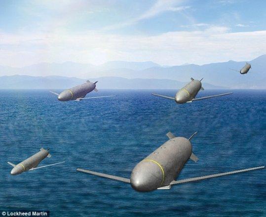 Mỹ hé lộ tên lửa Sói xám tấn công theo bầy đàn