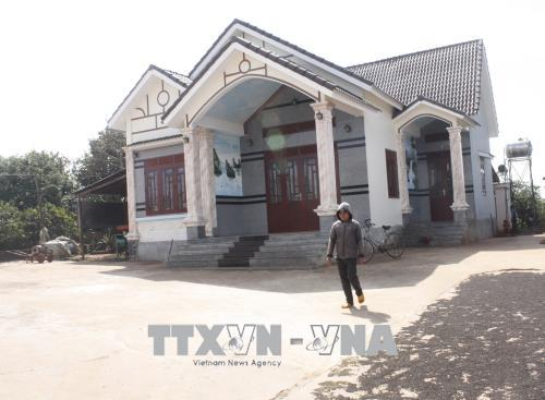 Đồng bào Ba Na đồng lòng xây dựng nông thôn mới
