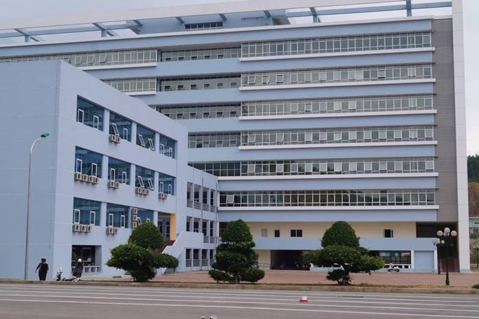 Bệnh viện Đa khoa Bắc Kạn. Ảnh: soytebackan.vn